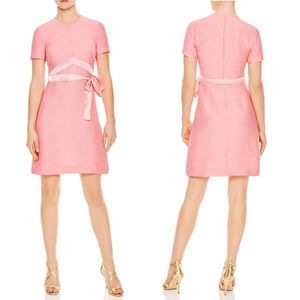Sandro Isaure A Line Mini Dress Rose Pink NWT S